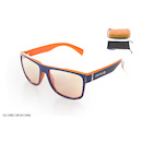 Carnac RSF Sunglasses / Blue and Orange / Low Light Orange