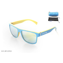 Carnac RSF Sunglasses / Blue and Yellow / Yellow Revo