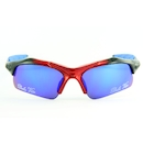 Dolce Vita Air Force One Cycling Glasses / Black and Blue / Blue Revo / Clear and Smoke