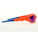 Power Race Maverick Hydrophobic Cycling Glasses / Fluo Orange and Blue / Red Revo