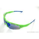 Power Race Mirage Cycling Glasses / Fluo Green / Blue Revo / Clear Anti Fog / Smoke Mirrored
