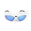 Dolce Vita Top Gun Cycling Glasses / White / Blue Revo / Orange and Clear