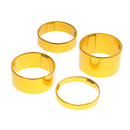 On-One Spacer Set 20+15+10+5 / 1 1/8 inch / Anodised Gold
