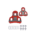 Barbieri Look Keo Cleats Set / Red / 6 Degree Float