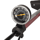 Jobsworth Hurricane Top Gauge Steel Floor Pump