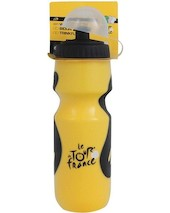 Tour De France Water Bottle Plastic Yellow