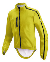 Vaude Sky Fly Emergency Waterproof Cycling Jacket / Lemon