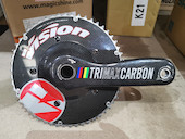FSA Vision Trimax Carbon TT Crankset Incl Megaexo BB / 54/42 / 177.5mm (Used)