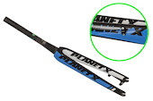 Planet X RTD80 Carbon Fork / Black/Sky/White (Rattle In Fork)