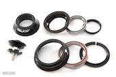 Selcof Zero Stack / Semi-Integrated Cup Cartridge Bearing Headset For Tapered 1 1/8th  1.5 Fork Steerer