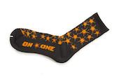 On-One Thicky Merino Socks Black Splat