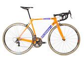 Holdsworth Super Professional Chorus Road Bike / 51cm Small / Team Orange / Calima Wheels - Ex Team New Frame