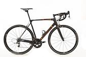 Holdsworth Super Professional Carbon Force22 Road Bike / 54cm Medium / Black And Orange With Team 35  EX TEAM USED