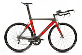 Planet X Stealth SRAM Rival 22 Time Trial Bike Large  Anthracite And Fluo Red