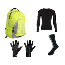 Planet X Commuter Back Pack Winter Bundle