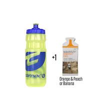 Carnac Water Bottle With Energy Gel