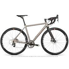 Planet X Tempest V2 Titanium Gravel Road Bike Sram Force 1 HRD 700C Wheel