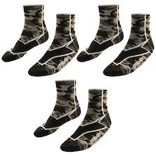 Briko AC9041 Lava Camu Mesh 9cm Socks 3 Pack