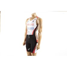 COCODI, Carbon Blanc Triathlon, Elyo Suez Sleevless Tri Suit