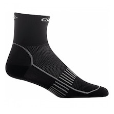 Craft Basic 2 Pack Black Cool Socks