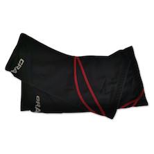 Craft WInter Knee Warmer Red Stitching
