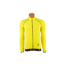 DNA Italico Long Sleeve Yellow Jersey