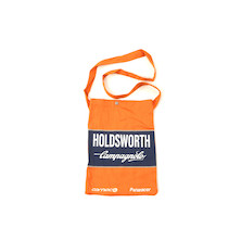 Holdsworth Team Edition Orange & Blue Travel Canvas Tote Bag