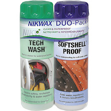 Nikwax Tech Wash / SoftShell Proof