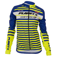 Planet X Team Carnac Women's Long Sleeve Autumn-Spring Jersey