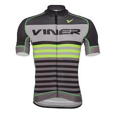 Viner Atomic Stripe Short Sleeve Jersey