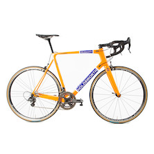 Holdsworth Super Professional / Campagnolo Super Record / XLarge / Team Orange / Calima Wheelset - EX TEAM
