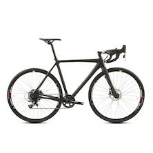 Planet X Sample Cross Bike / 54ST 54TT 12.5HT / Matt Black / Sram Apex Hydro