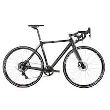 Planet X XLS Carbon Cross Bike / Small / Black  / Sram Rival 1 Hydro DIsc / Paint Defect On Fork