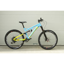 Titus El Viajero Gravity-Trail SRAM GX Eagle Mountain Bike / Medium / Azzuro Tech Green