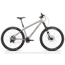 On One Ti 45650B Sram GX1 Mountain Bike / 18 Inch / Brushed