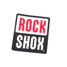 "Rockshox Fork Logo Sticker Mountain Bike Shock Decal Bicycle 3"" X 2.5"""