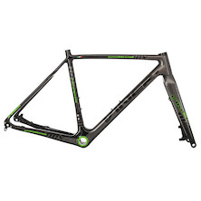 Viner Super Prestige DCX Carbon Cyclocross Frameset / X Large (56cm) / Green (Cosmetic Damage - Scratches On LH Chainstay)