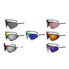 Briko Stinger Evo Glasses / Black / Yellow / Nastek Silver (Damaged Packaging and Missing Lens)