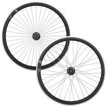 Gipiemme Pista A40 Wheelset / 700c / Fixed/Freewheel / 32/32h / Black (Used - Damaged)