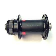 Fulcrum 12mm Thru Axle Hub  / Red And Black (Built Previously)