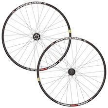 Gipiemme Roccia Equipe 700c/29 Inch Disc Wheelset / Black / Shimano/SRAM 10/11sp (Cosmetic Damage)