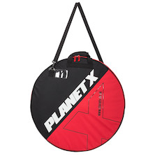 Planet X Padded Double Wheel Bag / 700c / Black And Red (Used - Cosmetic Damage)