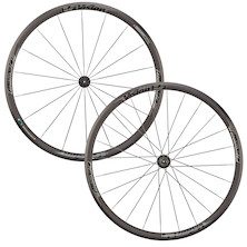 FSA Team 30 Comp 700c Road Wheelset / Shimano/SRAM 10/11spd (Front New/ Rear Used - Cosmetic Damage)