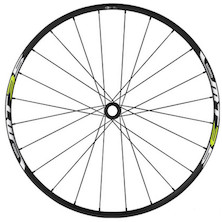 Shimano Deore WH-MT35 Centrelock Rear Wheel / 26 Inch / QR /  Black & Lime Green / Cosmetic Damage