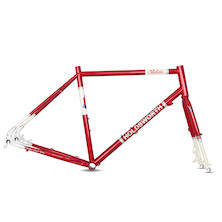 Holdsworth Stelvio Touring/Adventure Disc Frameset / Large (54cm) / Cherry Red Chip On HeadTube