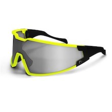 Briko Shot Evo Glasses / Yellow / Black / Pink Lens Only