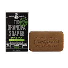 The Grandpa Soap Co Pine Tar Soap Bar