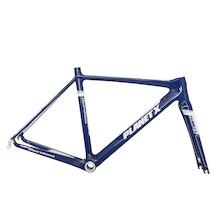 Planet X Maratona Carbon Road Frameset / 51cm / Blue And White / NON-Di2 Capable
