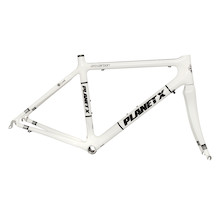 Planet X Pro Carbon Road Frame / Large / White / Used