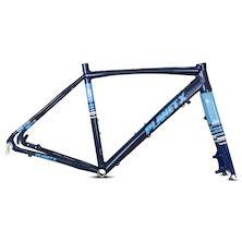 Planet X The Full Monty Alloy Gravel Frame / Medium / Midnight Blue / Cosmetic Mark